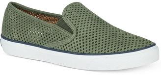 Sperry Women's Seaside Slip-On Sneakers Women's Shoes $75 thestylecure.com
