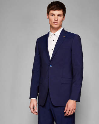 Ted Baker ASHDEBJ Debonair skinny plain wool suit jacket