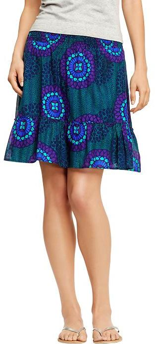Old Navy Women's Printed-Tiered Skirts