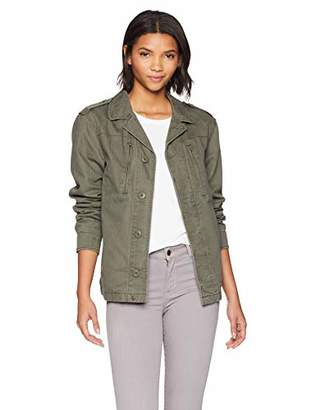 Alpha Industries Womens F-2 French Decorated MID Length Field Coat