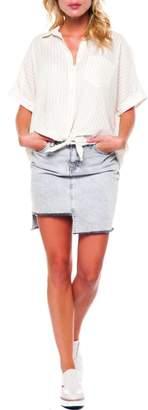 Dex Cotton Stripe Blouse