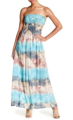 Tiare Hawaii Kai Strapless Maxi Dress