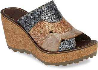 Fly London Gaxi Wedge Slide Sandal