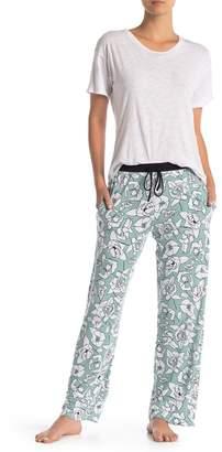 DKNY Printed Long Pajama Pants