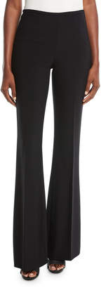 Michael Kors Pleated Wide-Leg Wool Pants