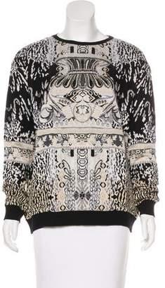 Mary Katrantzou Long Sleeve Knit Sweater