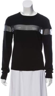 Veda Silk-Paneled Cashmere Sweater