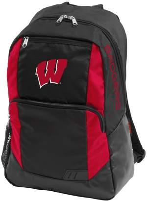 NCAA Logo Brand Wisconsin Badgers Closer Backpack