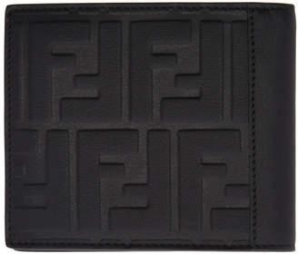 Fendi Black Forever Bifold Wallet