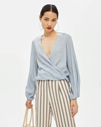 Topshop Casual Drape Top
