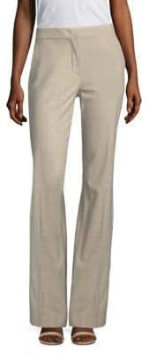 Max Mara Gallilea Zip-Front Straight-Leg Pants