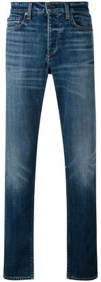 Rag & Bone stonewashed regular jeans