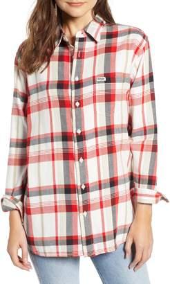 Wrangler Flannel Boyfriend Shirt