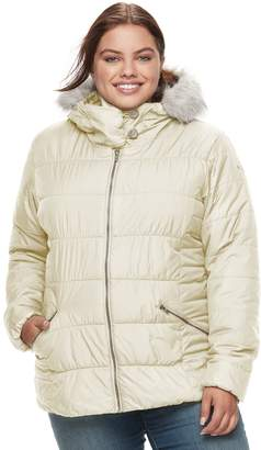 665a68c2200 Columbia Plus Size Spark Lake Sparks Lake Thermal Coil Hooded Faux-Fur Trim  Jacket