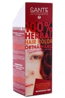 Sante Herbal Hair Color - Mahogany Red