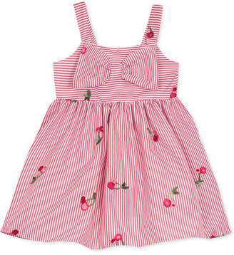 3ba6c41adbc Rare Editions Baby Girls Embroidered Striped Dress
