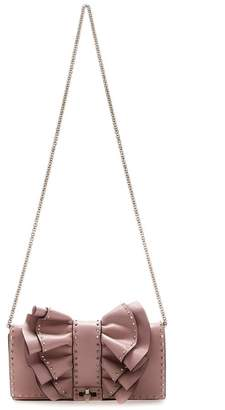Valentino Garavani Rockstud Bow Chain Shoulder Bag
