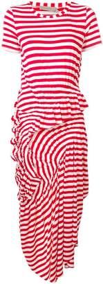 Preen Line striped maxi dress