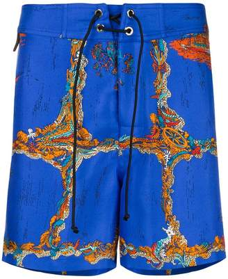 Emilio Pucci Portofino print shorts