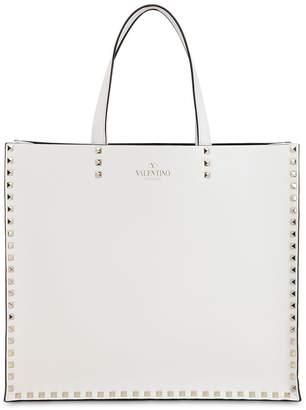 Valentino Leather Tote Bag