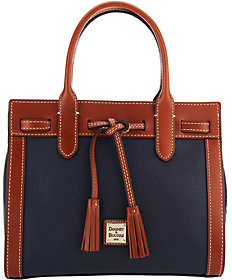 As Is Dooney & Bourke Pebble Leather Ariel Satchel $99 thestylecure.com