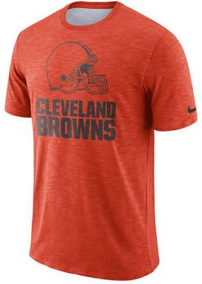 Nike Men's Cleveland Browns Dri-Fit Cotton Slub On-Field T-Shirt