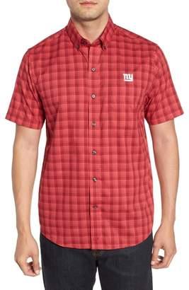 Cutter & Buck New York Giants - Fremont Regular Fit Check Sport Shirt