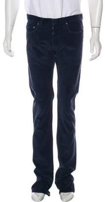 Christian Dior Corduroy Straight-Leg Pants