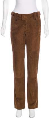 Ralph Lauren Mid-Rise Suede Pants w/ Tags