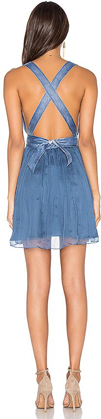 MAJORELLE April Dress in Blue 2