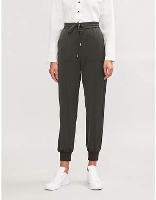 E.m. ME AND Cuff-hem woven trousers