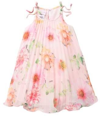 7486a3d7937d Iris   Ivy Crystal Pleated Floral Float Dress (Toddler   Little Girls)