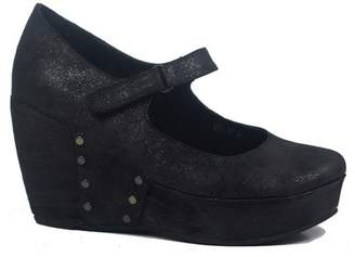 Antelope Wedge Heel Mary Jane Clog