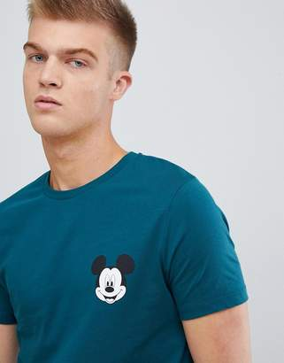 Asos DESIGN Mickey t-shirt with chest print