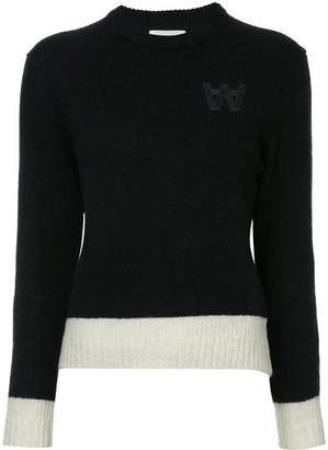 Wood Wood knit logo jumper
