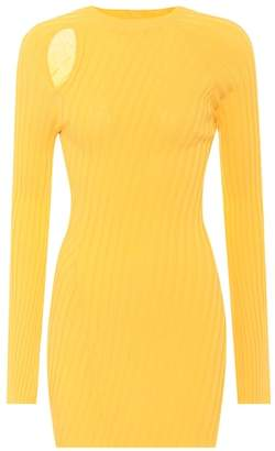 Ellery Aquarius ribbed knit top