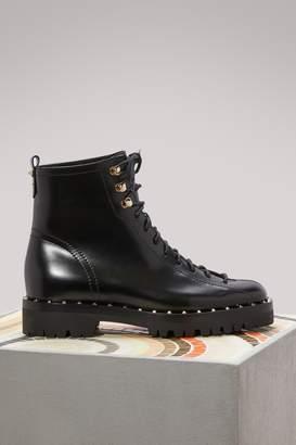 Valentino Rockstuds flat boots