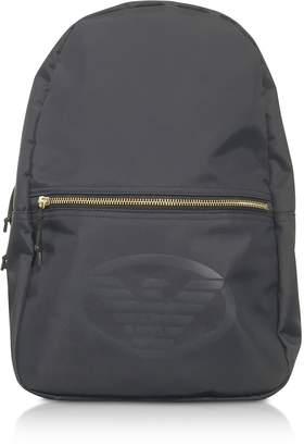 Emporio Armani Technical Fabric Backpack W/logo
