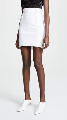 Cushnie High Waisted Miniskirt