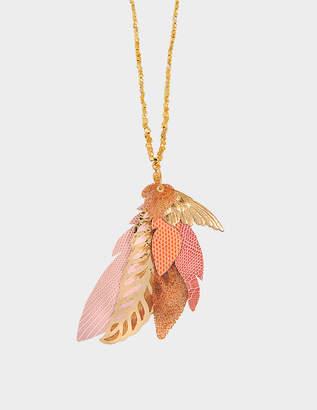Swarovski Gas Bijoux Exclusive L'iroquoise necklace with crystals