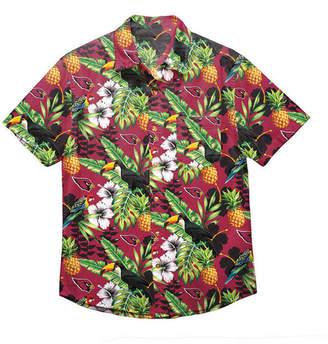 Forever Collectibles Men Arizona Cardinals Floral Camp Shirt