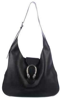 b83e02ed9e71 Gucci Dionysus Leather Hobo Bag - ShopStyle