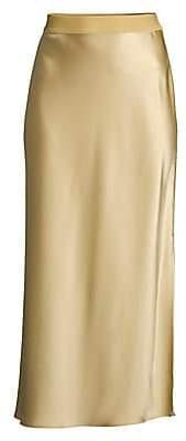 Theory (セオリー) - Theory Theory Women's Sateen Midi Slip Skirt
