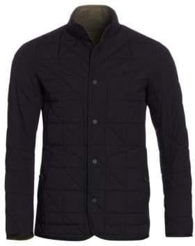 Ermenegildo Zegna Men's Padded Quilted Jacket - Black - Size Medium