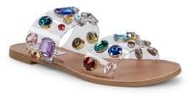 Steve Madden Jazlyn Embellished Two-Band Sandals