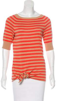 Diane von Furstenberg Striped Knit Top