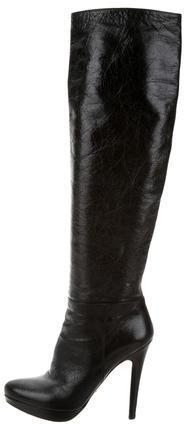 pradaPrada Platform Knee-High Boots