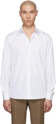 Dries Van Noten White Curley Classic Shirt