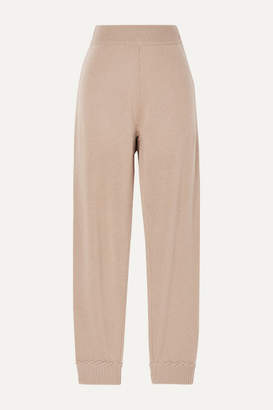 Theory Cashmere Track Pants - Tan