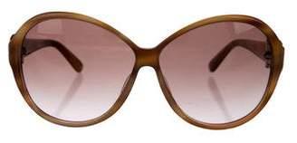 Salvatore Ferragamo Gancini Gradient Sunglasses